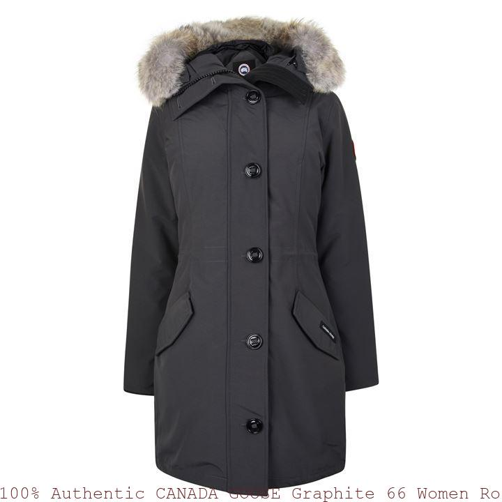eb3feb81700 100% Authentic CANADA GOOSE Graphite 66 Women Rossclair Parka Indianapolis,  IN 66217902