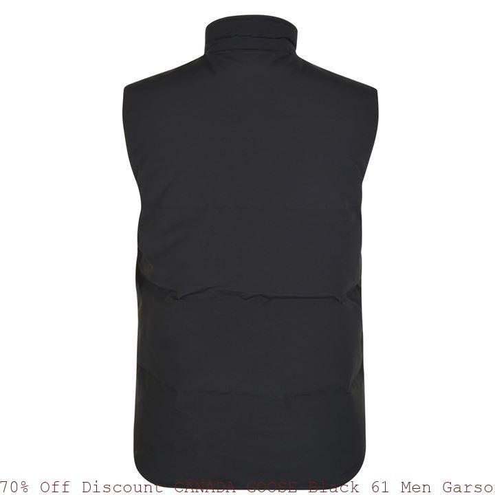 b88a012fd94 70% Off Discount CANADA GOOSE Black 61 Men Garson Padded Vest Garland, TX  60831503