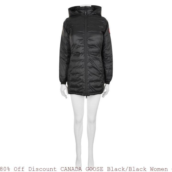 80% Off Discount CANADA GOOSE BlackBlack Women Camp Hooded Jacket El Paso, TX 66866848