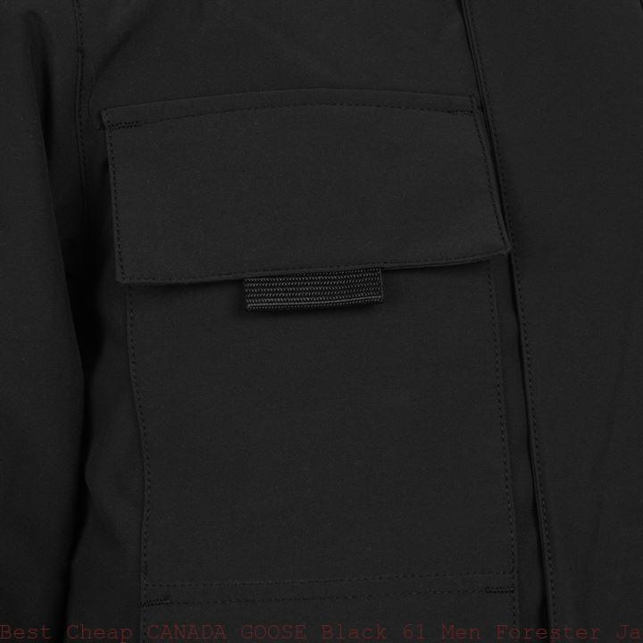 1521e27d7cf Best Cheap CANADA GOOSE Black 61 Men Forester Jacket Omaha, NE 60078003