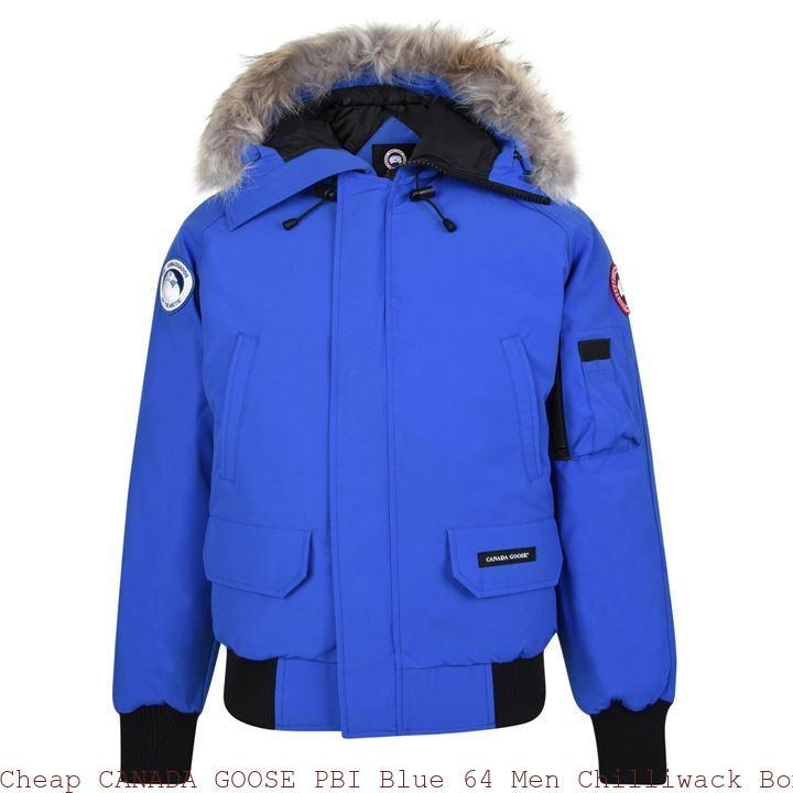 Canada Goose Outlet Uk Sale Canada Goose Men PBI Chilliwack Bomber PBI Blue