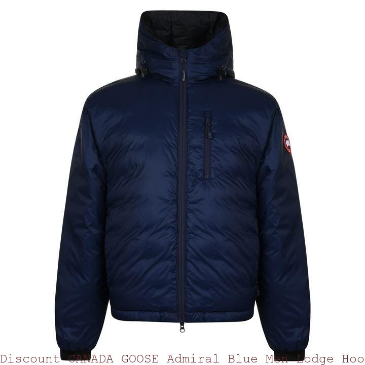 Discount CANADA GOOSE Admiral Blue Men Lodge Hooded Jacket Los Angeles, CA 60426818