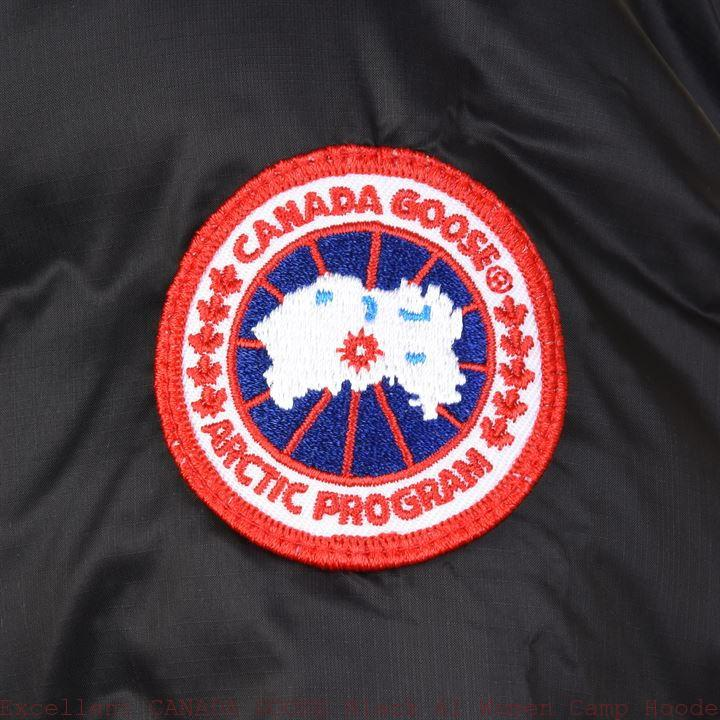 Excellent CANADA GOOSE Black 61 Women Camp Hooded Jacket Plano, TXPortland, OR 66866903
