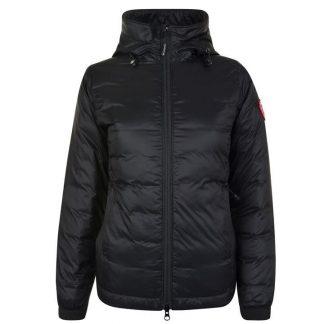 Best Cheap CANADA GOOSE BlueBlack Women Camp Hooded Jacket